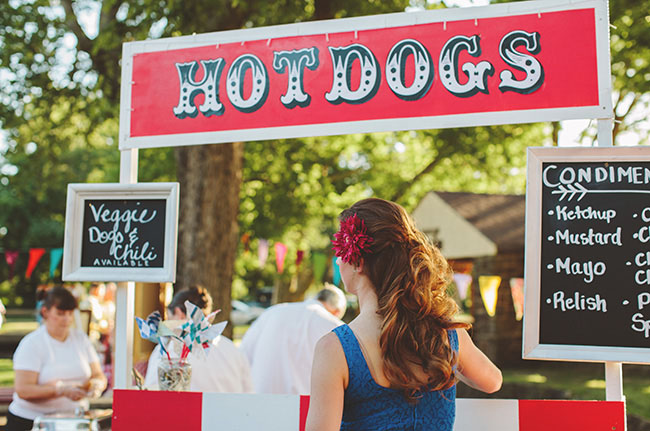hot dog street food matrimonio