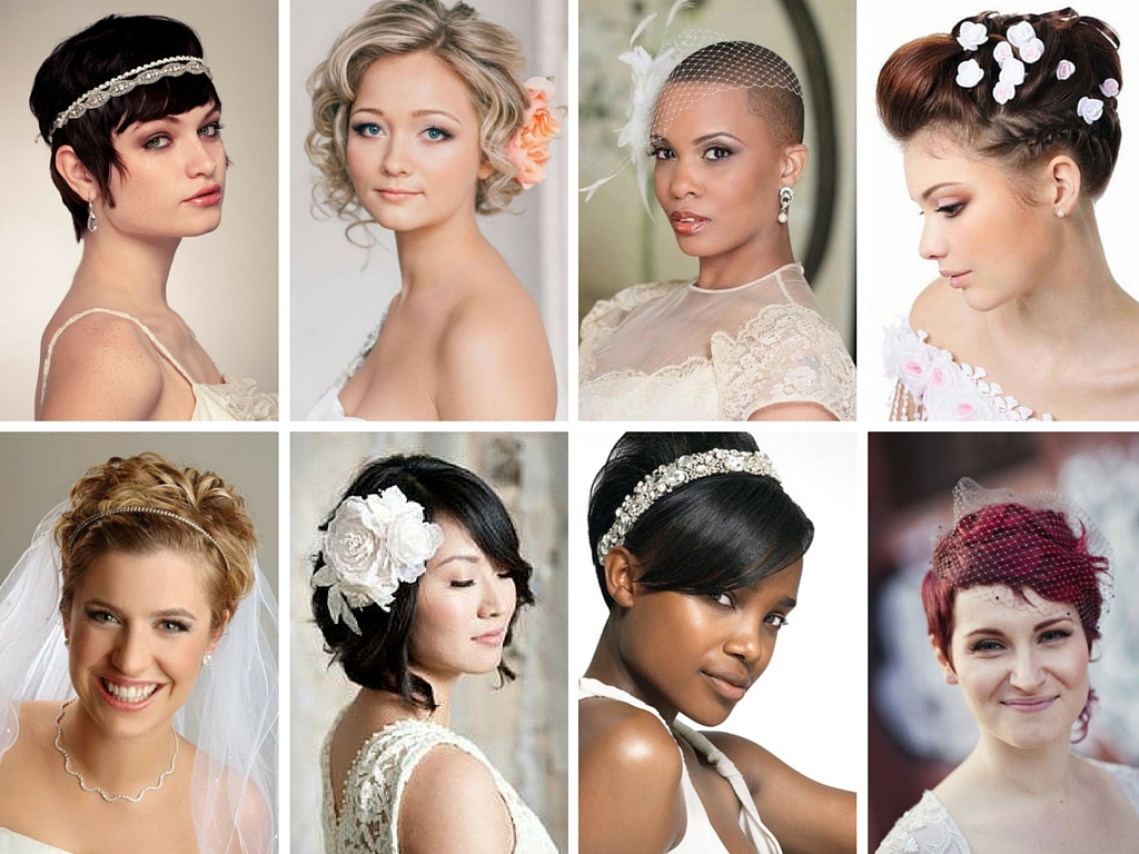 Top Acconciature per la sposa con i capelli corti - Wedding Planner a  MM13