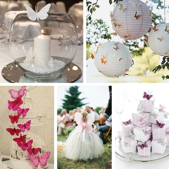 butterfly wedding decor ideas