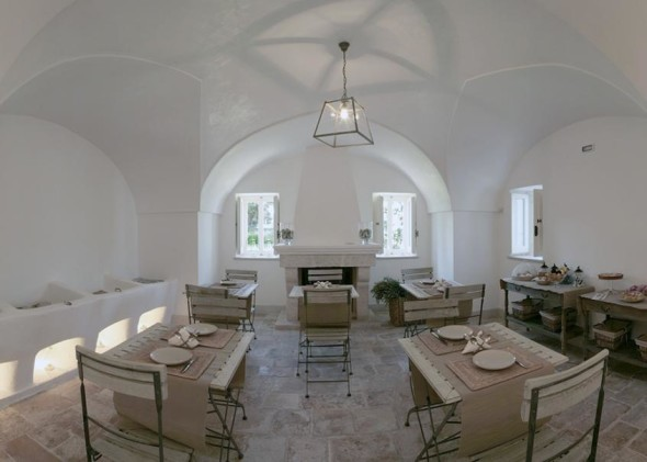 hall of the masseria