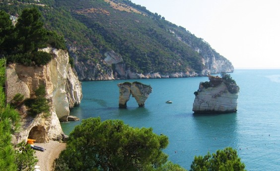 places to see in Puglia: Gargano National park