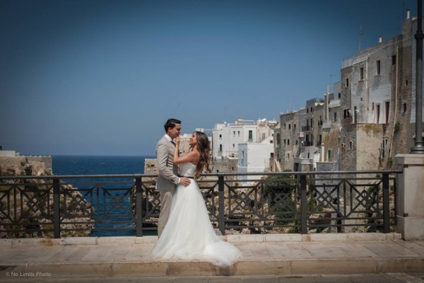 Wedding photography in Polignano - No Limits Photo