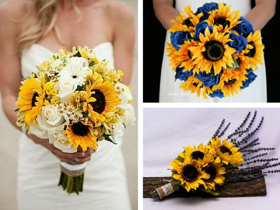 sunflower wedding bouquets ideas sunflower wedding ideas for an amazing country wedding 7829