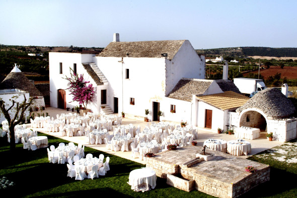 wedding in a masseria