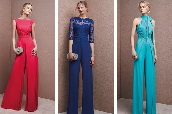 newest collection 60de2 d25e6 Jumpsuit per le invitate al matrimonio