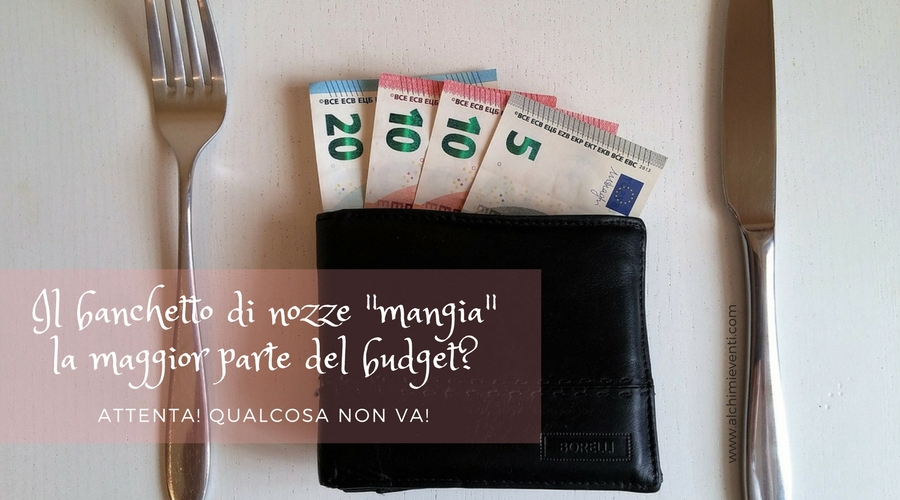 banchetto nozze budget